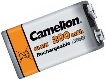 Rechargeable batteries 9 Volt 200 mAh Camelion
