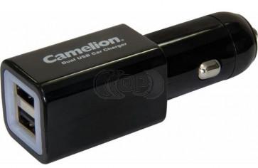 Camelion 12 volt car USB Charger 2.1 Ampere DD801
