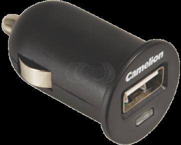 Camelion 12 volt car USB Charger 1 Ampere DD802