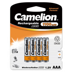 Rechargeable batteries AAA 1100 mAh Camelion 4 pieces