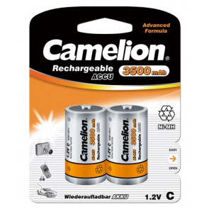 Rechargeable batteries C-Baby 3500 mAh NiMH Camelion 2 pieces