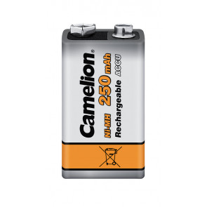 Rechargeable batteries 9 Volt 250 mAh Camelion