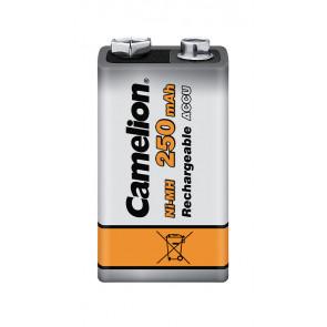 Rechargeable batteries 9 Volt 250 mAh Camelion