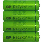 Rechargeable batteries AA 2600 mAh NiMH GP (Recyko+) 4 pieces