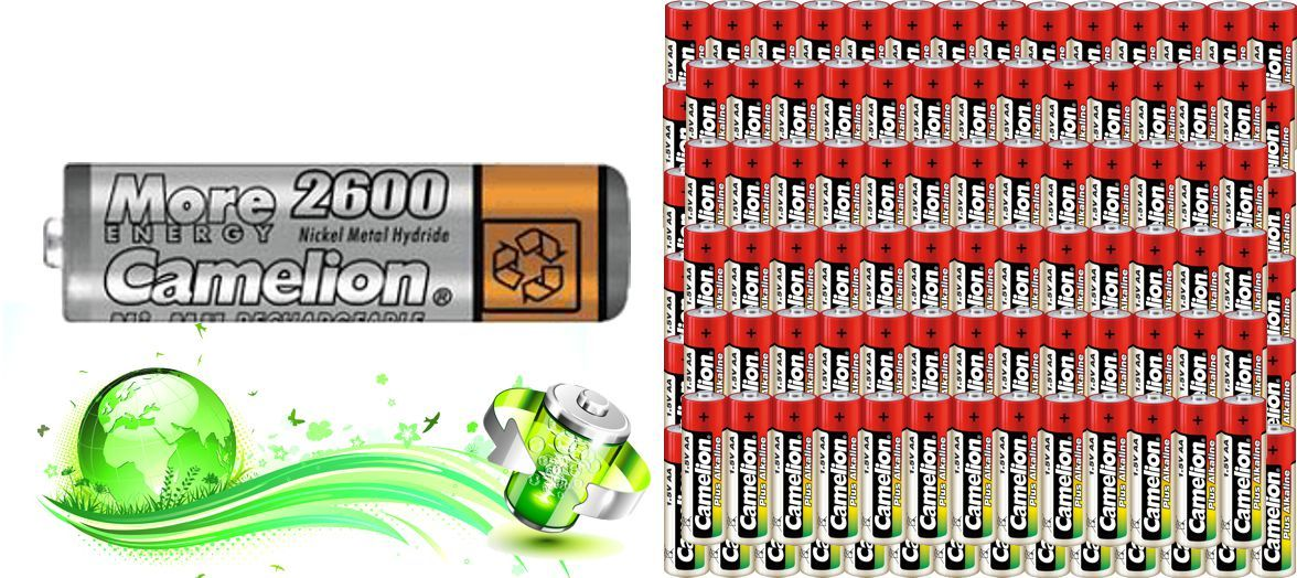 Rechargeable batteries cheap
